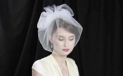 Huge discount off all silk veils in sample sale at Gillian Million