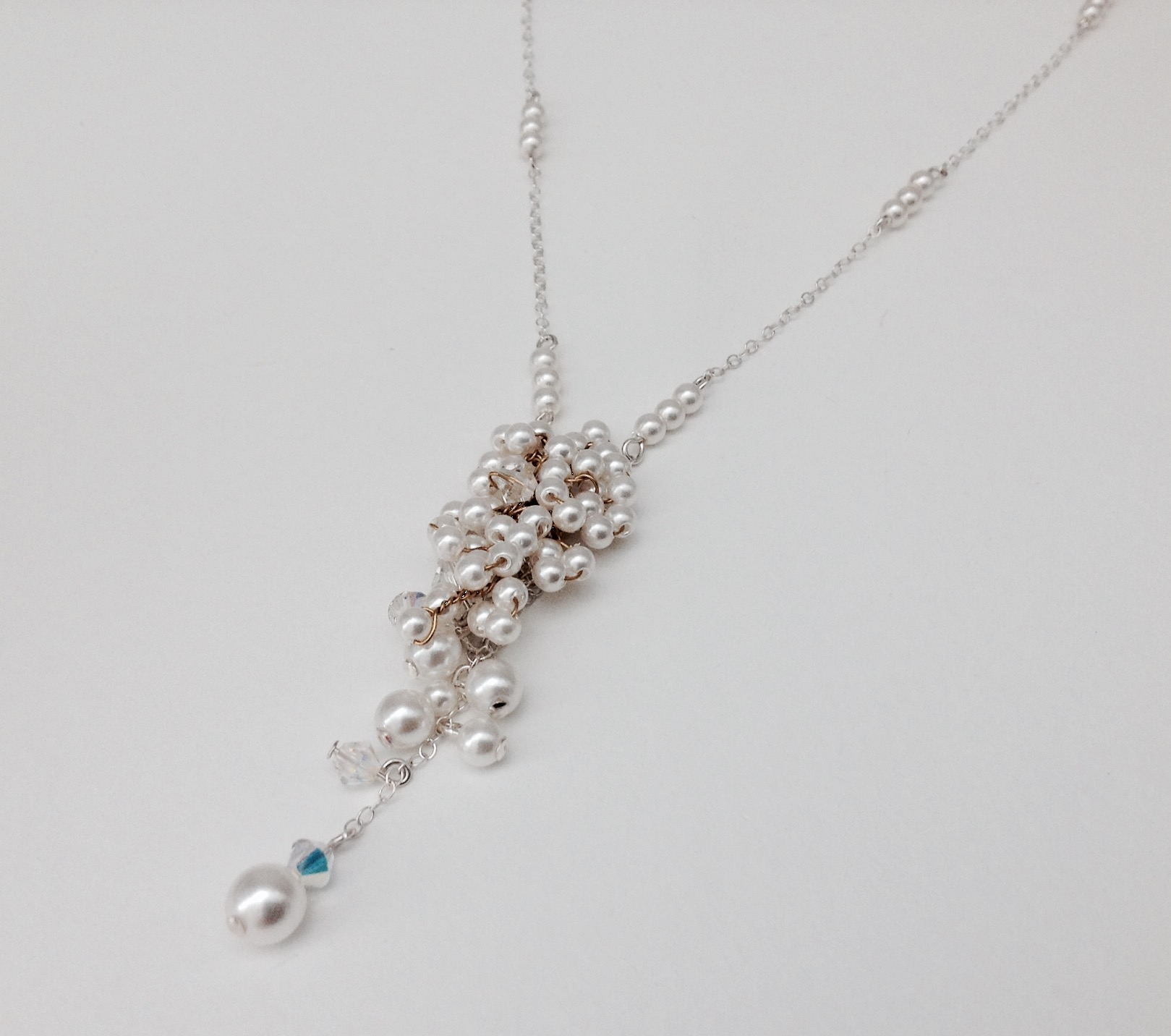 Lepley Pearl Cascade Necklace
