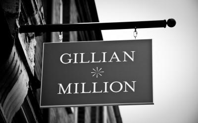 Gillian Million in the beautiful Teddington High Street