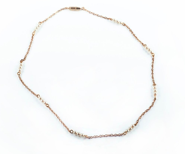 Chain & Pearl Bracelet