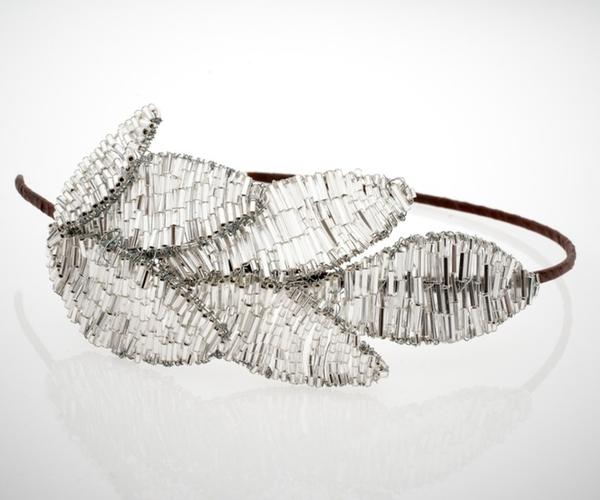 Silver Leaf Headdress