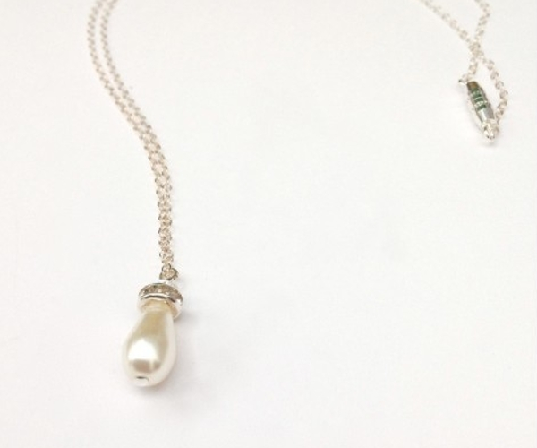 Pearl Pear Drop Necklace