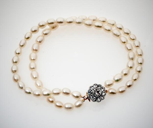 Bracelet with Vintage Clasp