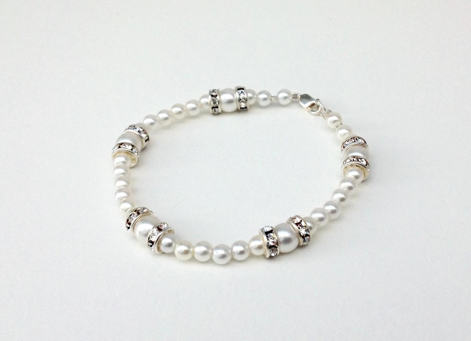 Pearl Rondelle Bracelet