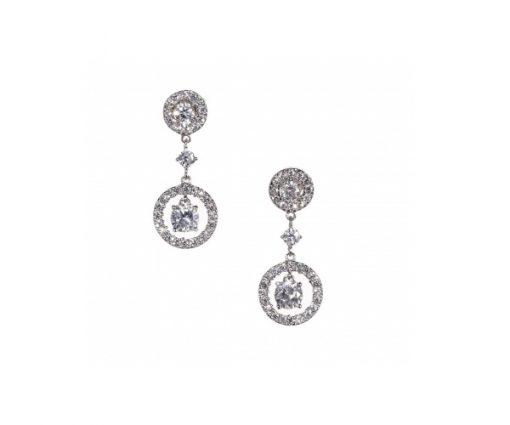 double-circle-earrings