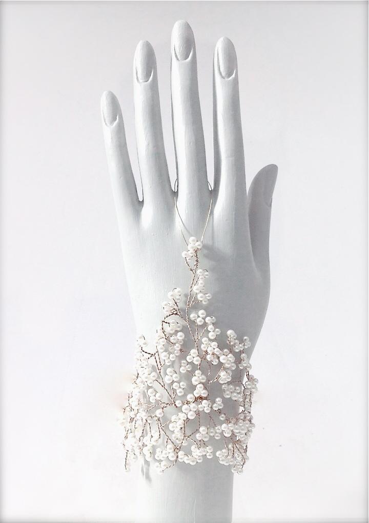 Pearl Sensibility Cuff Cascade