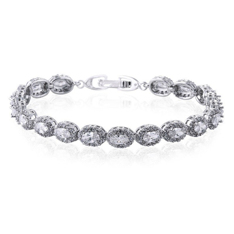 Faye Simulated Diamond Bracelet