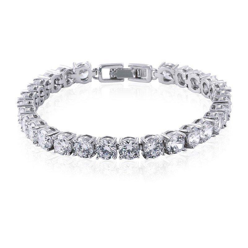 Helen Simulated Diamond Bracelet