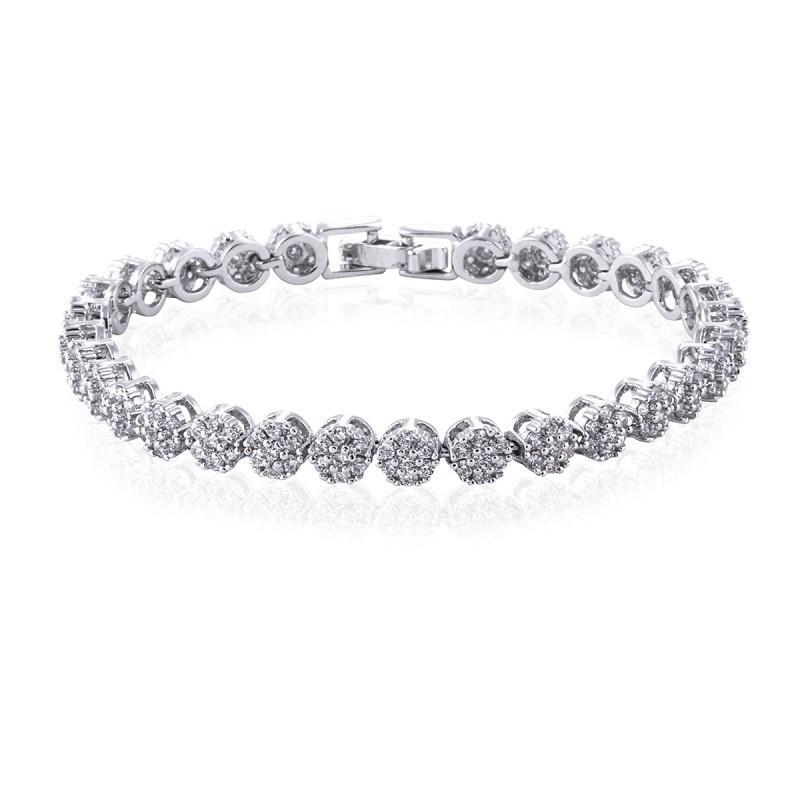 Vivienne Simulated Diamond Bracelet