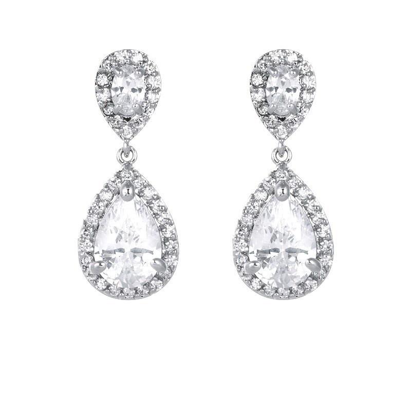 Faye Wedding Earrings