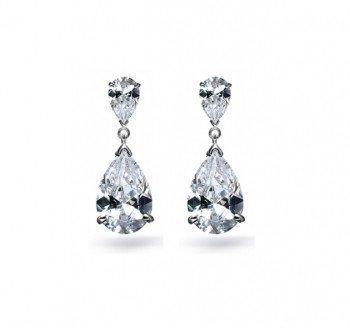 Serena Cubic Zirconia Bridal Earrings