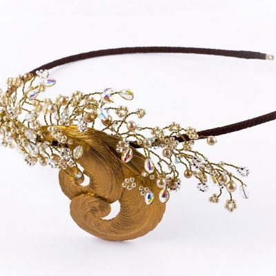 Gold Bespoke headdress