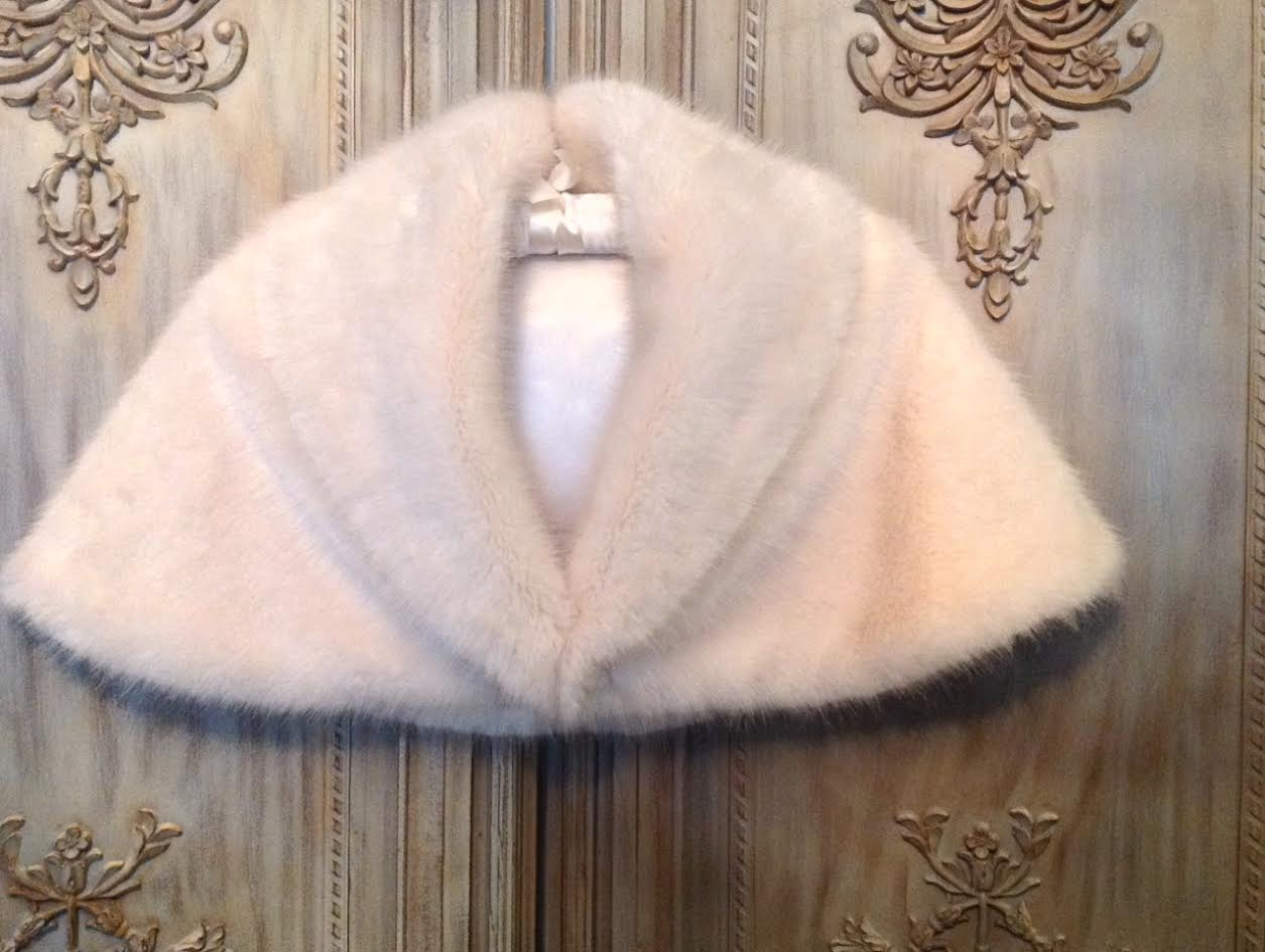 Sophia Faux Fur Shrug