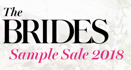 Gillian Million at The Brides Sample Sale