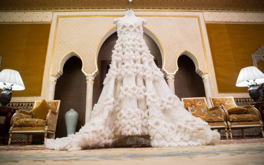 Ralph & Russo Bespoke Designer Wedding Dress at Gillian Million