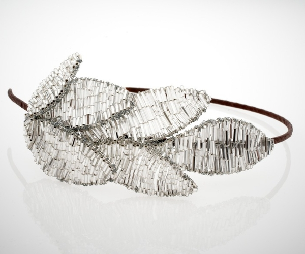 Silver Leaf Headdress