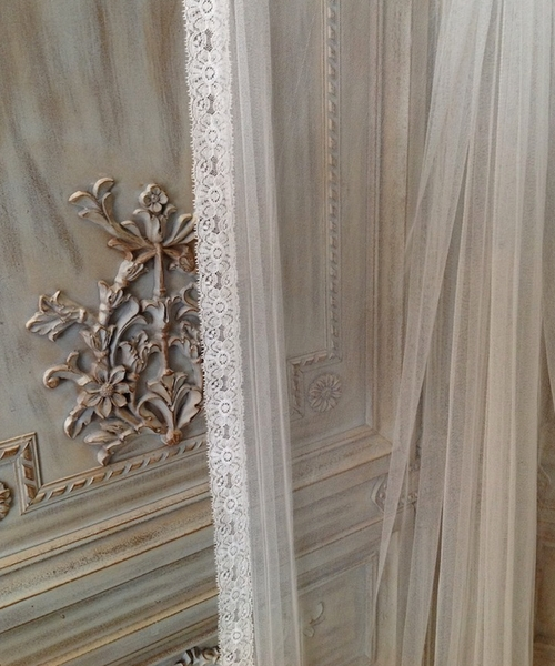 Lace Silk Veil
