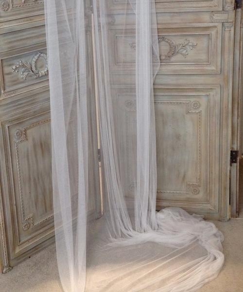 Silk Tulle Veil