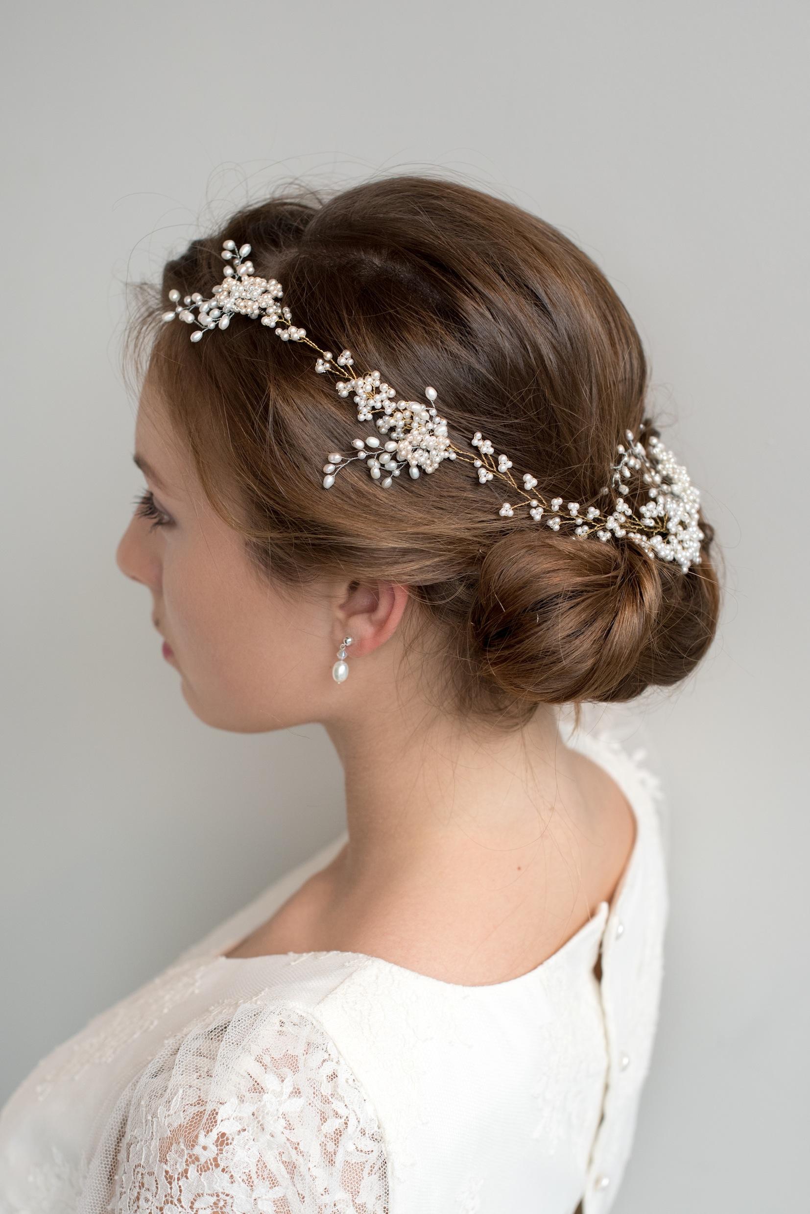 Pearl Meadow Hair Vine