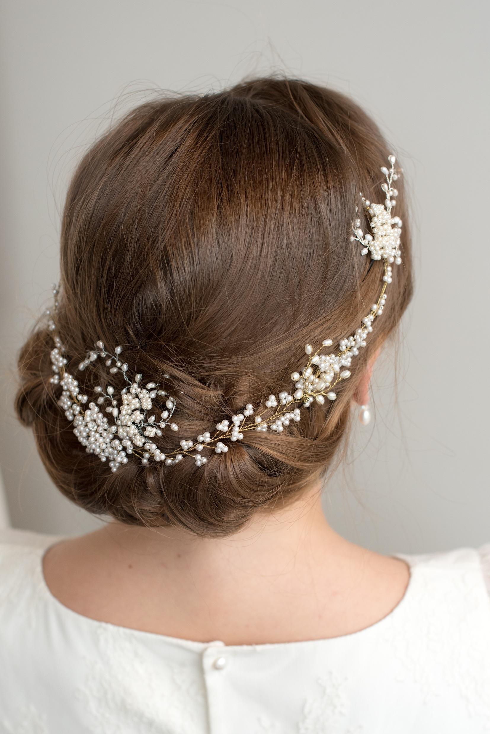 Sensibility Pearl Hair Vine