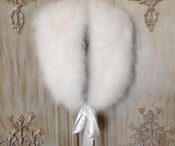 Streisand Marabou Feather Stole