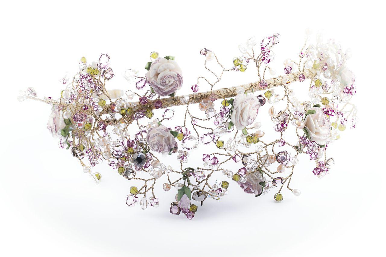 Florence Flower headband