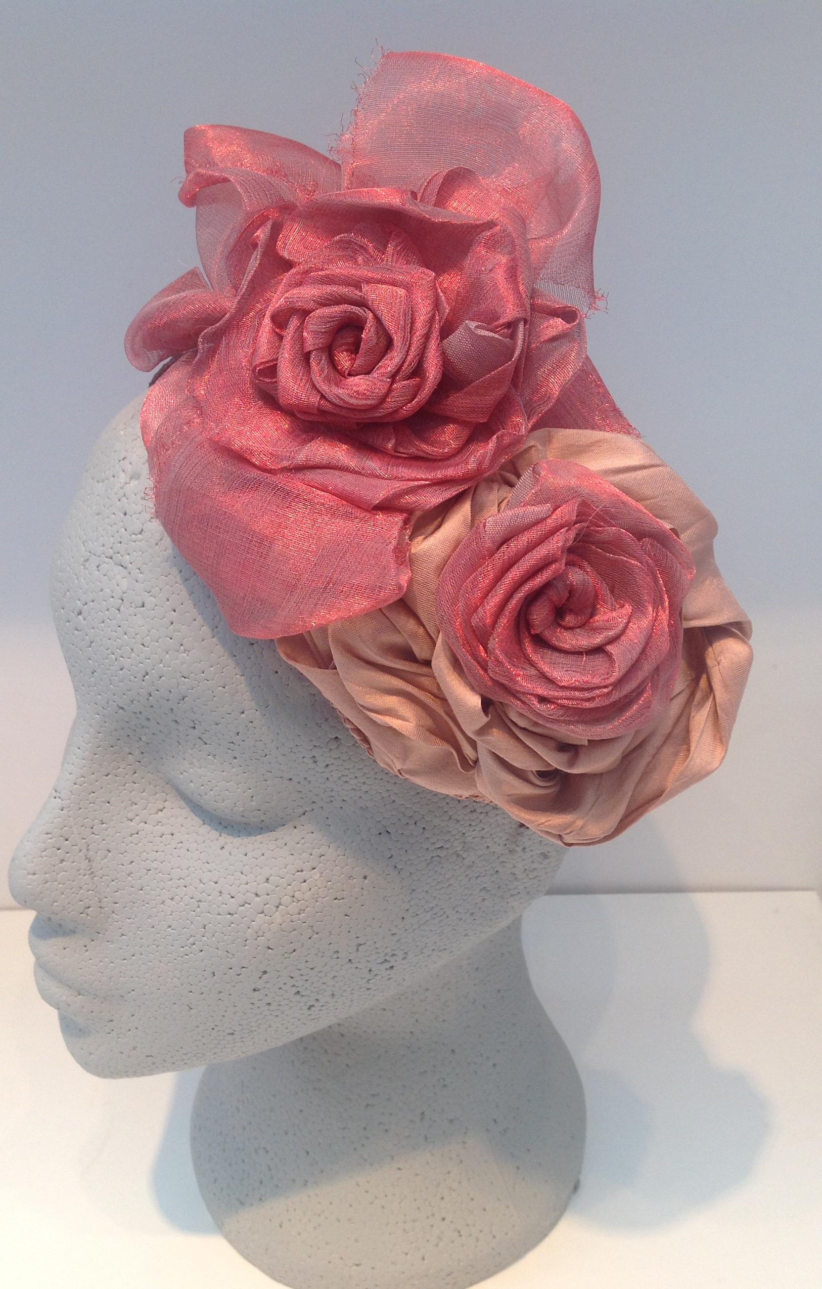 Silk Floral Hat