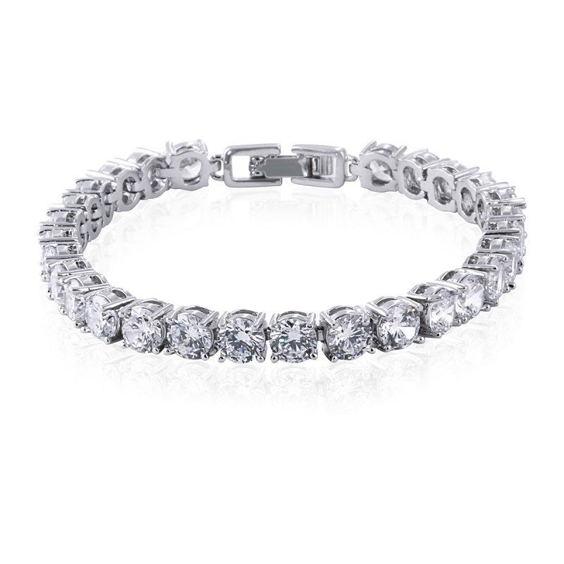 Helen Simulated Diamond Bracelet
