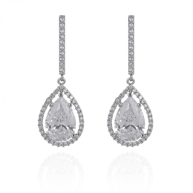 Dawn Cubic Zirconia Earrings